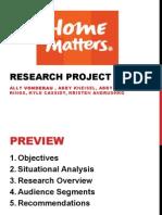 home matters presentation