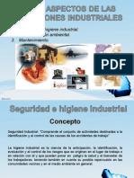 Otros Aspectos de Las Operaciones Industriales