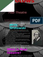 poor theatre powerpoint