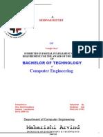 Google Glass Seminar Report