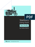 Statistics Using Excel Succinctly