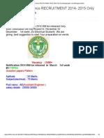 TS TRANSCO Genco RECRUITMENT 2014- 2015 Only Navatelanganajobs _ Navatelangana Media