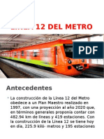 Procedimientos Constructivos de la Linea 12