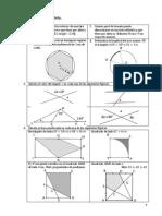 Problemas de geometría y geometría analítica