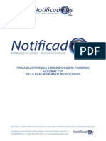 Informacion Firmaelectronicavalidacion Ficherospdf Notificad@s