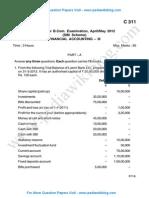 Finance Accounting 3 May 2012