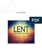 Lent is a Time of Renewal