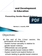 Gender Based Violence Slides2013-1