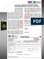 Studi Potensi Bisnis KOMODITAS PANGAN UTAMA (PADI, JAGUNG DAN KEDELAI) di Indonesia, 2015‐2020