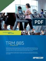 Sell Sheets TRM885 Precor