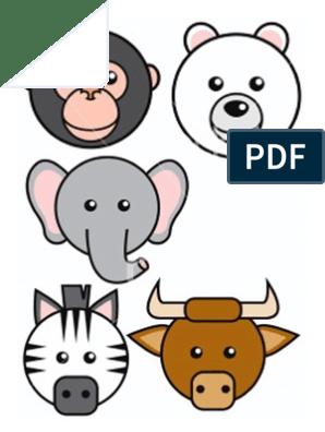 81+ Pola Gambar Binatang Untuk Anak Tk HD