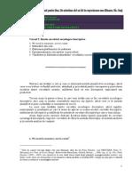 CURSUL 5. Bazele Cercetarii Sociologice Descriptive