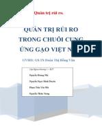 [QTRR]_Quản Trị Rủi Ro t Rong Chuỗi Cung ứ Ng Gạo Việt Nam x Uất Khẩu
