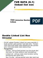 double linked list non circular