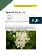 Manfaat dan Khasiat Bunga Melati Untuk Kulit.doc