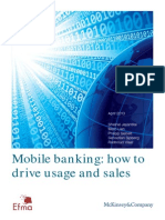 Mobile Banking How to Drive Usage and Sales