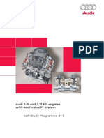 SSP 411 Audi 2.8l and 3.2l FSI Engines With Audi Valvelift System