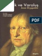 Jean Hyppolite - Mantık ve Varoluş.pdf