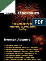 1. Health Ergonomics