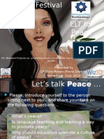 ELT for Peace