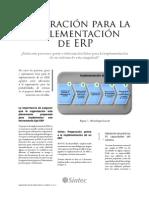 Preparacion Previa ERP
