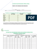 Factsheet 8 - Key Schedules and Checklists