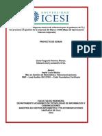 Modelo Integracion Procesos ETOM