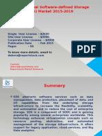 Global Software-Defined Storage (SDS) Market 2015-2019