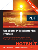 Raspberry Pi Mechatronics Projects HOTSHOT - Sample Chapter