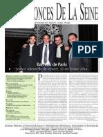 Edition du Jeudi 18 Decembre 2014