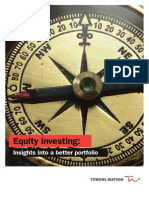Equity Investing Insights Into a Better Portfolio