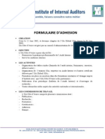 Formulaire d Adhesion Iiaci