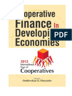 Cooperative Finance in Developing Economies