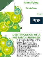 Identifying Problem