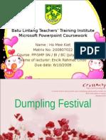 Dumpling Festival