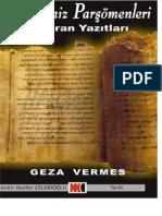Ceza Vermes-ölü Deni̇z Parşömenleri̇-Xx