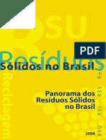 Panorama de Resíduso Sólidos no Brasil 2004