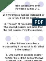 Inequalities and Algebra