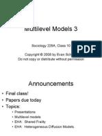 Class 10 Multilevel models