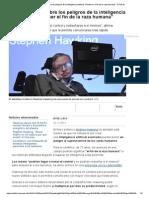 Hawking Alerta Sobre Los Peligros de La Inteligencia Artificial_ _Puede Ser El Fin de La Raza Humana_ - RTVE - Copia