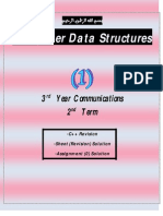 Data Structures Third Year Communications Abotaleb Notes