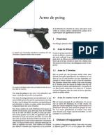 Arme de Poing 12