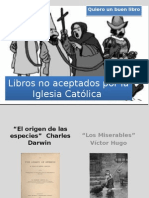 Libros No Aceptados Por La Iglesia Católica