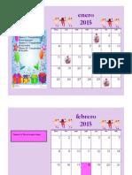 Taller 3 estefania sanchez lopez 9°c fechas importantes Calendario Mensual