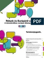 Az Állampolgárok Európai Évének összefoglalója