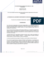 Resolucion No. 97 Del 19 de Febrero de 2015