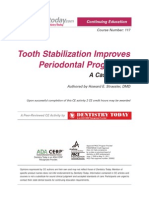 Print Tooth Stabilization