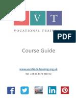 SVT course brochure