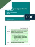 VISÃO GERÃO DE GERNCIAMENTO DE PROJETOS