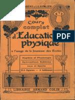 R.fabens - Cours Complet d'Education Physique 1909